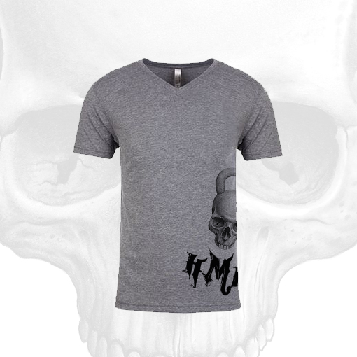 HMK-Mens-V-Neck-Dark-Gray