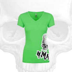 HMK-Womens-V-Neck-Green